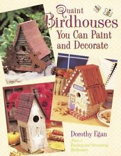 Quaint Birdhouses You Can Paint and Decorate