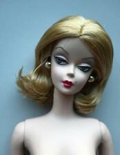 2007 Red Hot Reviews Silkstone Barbie Nude Restyled Hair Doll~Gold Label~Mint