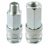 """PCL XF Series Female Coupler 1/4"""" BSP Male & FemaleThreads Air Hose Fitting"""