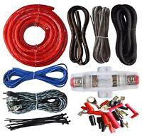 SoundBox ECK4, 4 Gauge Amplifier Install Wiring Kit 4Ga Amp Install Cables 2200W