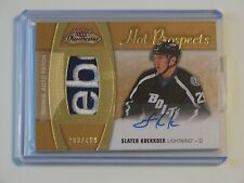 2015-16 FLEER SHOWCASE HOT PROSPECTS S.KOEKKOEK AUTO PATCH 283/499 REEBOK PATCH