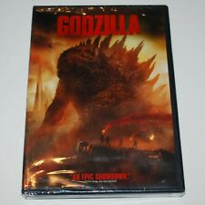 Godzilla Dvd 2014 Remake Widescreen Sealed Science Fiction Kaiju Giant Monsters