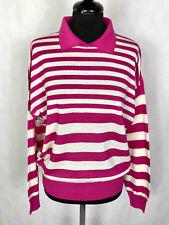 Luisa Spagnoli Vintage '80 Jersey Sweater Woman Wool Woman Sweater Sz. L - 46