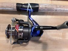 QUANTUM FISHING ROD AND REEL COMBO 6 BEARING IM 6 ROD