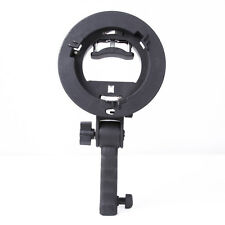 Pro Handle grip Bracket S Bowens Mount Holder for Speedlite Flash Snoot Softbox