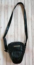 Vintage Black Leather Cullmann Camera Bag