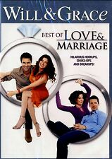 BRAND NEW 2DVD SET // Will and Grace - Best of Love and Marriage// 16 EPISODES