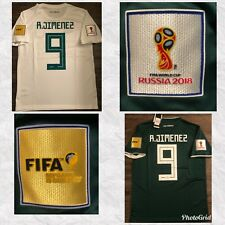 *FIFA WORLD CUP 2018 * RAUL JIMENEZ * MEXICO AWAY-HOME JERSEY