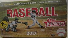 2017 TOPPS HERITAGE BASEBALL CARDS, PICK ANY 10 TO COMPLETE YOUR SET