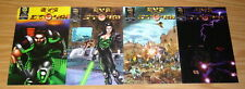 Eye of the Storm #1-4 VF/NM complete series - rival comics set lot 2 3