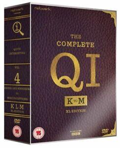 The Complete QI K-M Series K L M (Stephen Fry) New Region 2 DVD