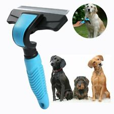 Pet Grooming Deshedding Tool Brush for Dog & Cat Hair for Long & Short Haired Br