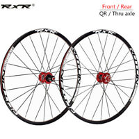 "26/27.5/29"" Carbon Hub XC Mountain Bike Wheels 8/9/1011S Front Rear Clincher Rim"