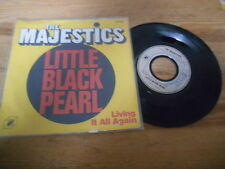 "7"" Pop The Majestics - Little Black Pearl / Living It All Again (2 Song) CUBE RE"