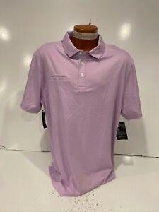Nike Dri-Fit Player Men's Golf Polo Sz L Lilac Purple AT8940-543 New MSRP $85