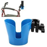 Wheelchair Adjustable Bottle Drink Cup Holder Rollator Stroller Bicycle Walker