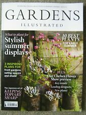 Gardens Illustrated magazine May 2019 Chelsea Flower Show Topiary Summer display