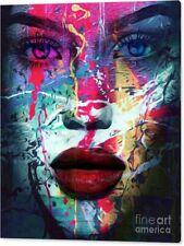 Motiv The Queen Silbergebürstetes Alu Dibond 100x75 Pop Art//Bild//British Royal