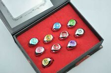 Naruto Rings 10 pcs NARUTO Akatsuki Cosplay member's Ring Set