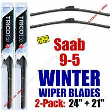WINTER Wipers 2-Pack Premium Grade - fit 2010-2011 Saab 9-5 - 35240/210