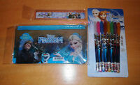 New Frozen pencil case pens ruler Elsa Anna Hans Olaf party bag fillers birthday