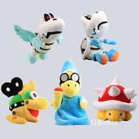 Super Mario Series Dry Bones Magikoopa Kamek Spiny Mecha Koopa Plush Doll Toy