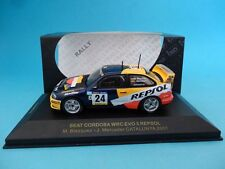 Ixo 1/43 de metal asiento Cordoba WRC Evo 2001 Cataluña Rally Repsol #24#
