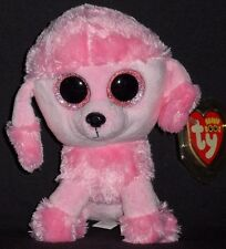 """TY BEANIE BOOS - PRINCESS the 6"""" POODLE DOG - MINT with MINT TAG - GLITTER EYES"""