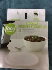 Pressure Cooker Inner Pot Storage Lid (3 Qt.) New Food Network