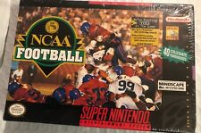 Brand New Ncaa Football - SNES Super Nintendo Game