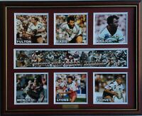 New MANLY SEA EAGLES LEGENDS Memorabilia Limited Edition Framed Comes With COL
