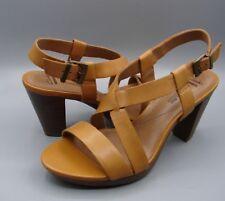 """JAELYN FOG""Clark's Women's/Ladies TAN Leather Sandals size UK 7 D"
