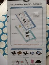 SIZZIX 657155-SOLO PLATFORM AND SOLO SHIM