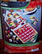 "Bucilla ""SANTA'S TOY SHOP Felt Christmas Advent Calendar Kit-OOP 86541"