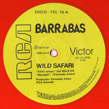 """Barrabas – Wild Safari / Woman - 12"""" INCH    color vinyl"""
