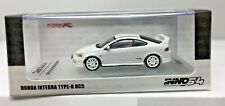 INNO64 C55 1/64 HONDA INTEGRA TYPE-R DC5 IN WHITE WITH EXTRA WHEELS IN64-DC5-WHI