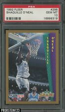 1992-93 Fleer Slam Dunk Shaquille O'Neal Orlando Magic RC Rookie HOF PSA 10