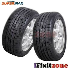 2 Supermax TM-1 TM1 All Season A/S Traction Premium Touring 205/55R16 91T Tires