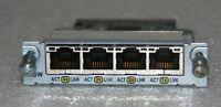 Genuine Cisco WIC-4ESW Interface Module For 1721 1760 2600 2600XM 2691