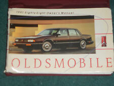 1991 OLDSMOBILE / EIGHTY EIGHT / OWNER'S MANUAL / ORIGINAL 88 GUIDE BOOK