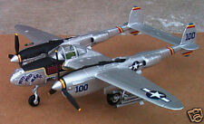 P-38 Putt Putt Maru Wood Model Plane P38 Lightning Gear Down