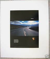 PORSCHE OFFICIAL 'BUMMER' FACTORY SHOWROOM POSTER 1994 RARE USA EDITION