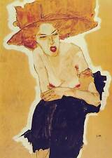 Egon Schiele # 02 Poster cm 35x50 Affiche Plakat Cartel Stampa Grafica Digitale
