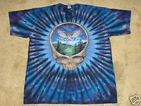 Grateful Dead SYF Owl S, M, L, XL, 2XL, 3XL Tie Dye T-Shirt