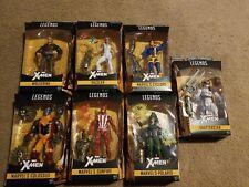 MARVEL LEGENDS X-MEN WARLOCK BAF WAVE CYCLOPS COLOSSUS WOLVERINE SET OF 7!
