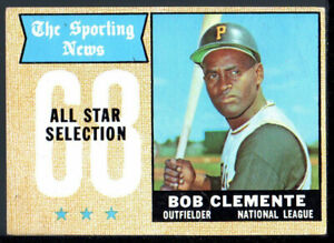 1968 Topps #374 ROBERTO CLEMENTE   All Star    Estate Sale - 1st Time Listed