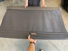 2014 - 2018  BMW X5  OEM  Cargo Cover Tonneau Luggage Shade  Black