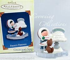 2005 Hallmark Frosty Friends Keepsake Ornament Husky Igloo Mailbox #26 in Series