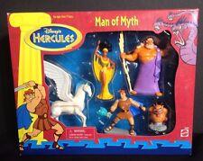 "MATTEL WALT DISNEY'S HERCULES ""MAN OF MYTH"" 5 FIGURE BOX SET PEGASUS MUSE S64"