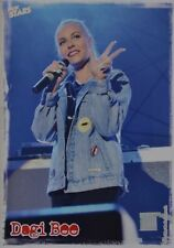 DAGI BEE - Star Card - Foto Karte Mini Poster Clippings YouTube Fan Sammlung NEU